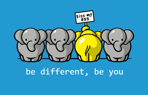 essere differenti essendo se stessi